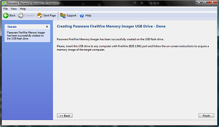 Memory-imaging USB Drive Ready