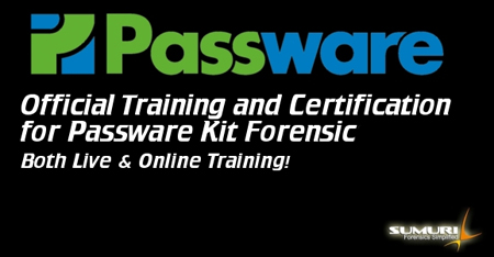 Passware Training