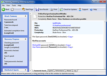 KeePass Decryption