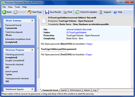 TrueCrypt Hidden Decryption