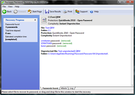 Passware Kit Forensic screenshot - PGP Recovery