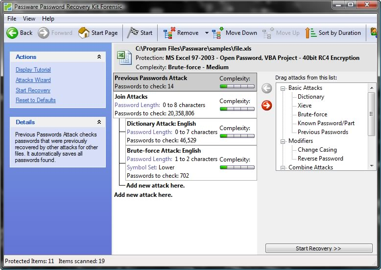 Инструкция Passware Kit Forensic