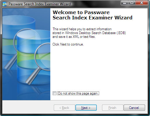 Passware Search Index Examiner Screenshot